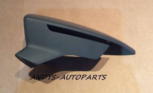 SEAT LEON 2012 ONWARDS WING MIRROR COVER R/H OR L/H SIDE PAINTED ANY SEAT COLOUR